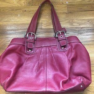 Coach leather purse - Soho pleated large tote